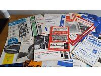 WANTED - Football Programmes / Magazines / Memorabilia / Press Photos / Programs