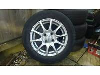 "Arcasting Alloy wheels 4x100 MX5 & more 14 """