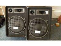 2x Speakers + Amp