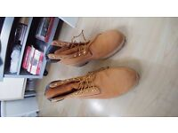 Men's Timberland Boots, Wheat Colourway, Size 10.5