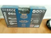 Halfords Advanced 200 Piece Socket and Ratchet Spanner Set Brand New Seald Box