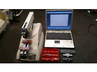 gravograph im4 engraving machine, with cutters, laptop and software