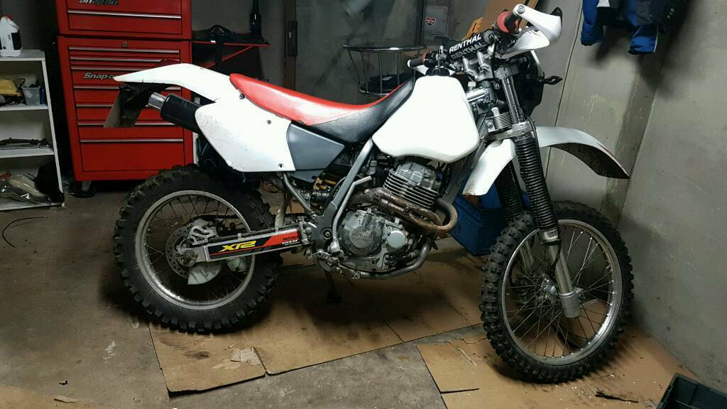 honda xr400r xr400 enduro in carrickfergus county. Black Bedroom Furniture Sets. Home Design Ideas