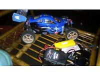 Amelia Booster Pro Brushless RC Buggy. Rapid With Alloy Upgrades. Excellent Condition.RTR