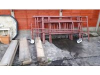 DIY steel scaffolding
