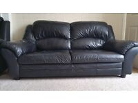 Three & Two (3+2) Seater Leather Sofa
