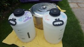 2 x 23 litre Fermenters, used but in very good condition