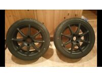 """15"""" Tsw alloy wheels with centre caps 4x108"""