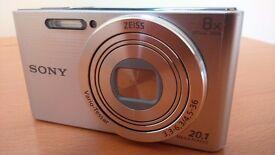 Hi,for sale camera SONY Cyber-shot+memory card 8GB