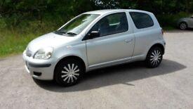 Toyota, YARIS, Hatchback, 2003, Manual, 998 (cc), 3 doors