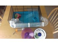 Medium sized Hamster Cage plus extras