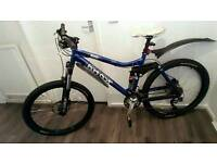Bargain! KONA full suspension Mountain bike