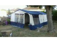 Conway Canterbury Trailer Tent plus accessories-1st to see will buy- Bargain