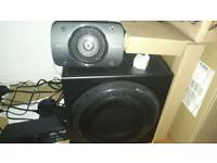 Logitech Dolbi Enabled Home Theatre audio for sale