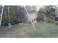 Swing, swing glider, and slide