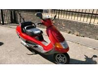 Piaggio hexagon 125cc 2 stroke quick bike