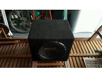 1400W pionner subwoofer with box