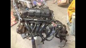 Ford 1.6 dura tec engine and gearbox ka sport