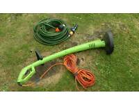 Strimmer and hose