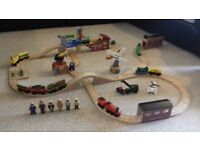 genuine wooden thomas tank engine trains and track