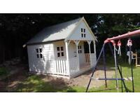10ft x 10ft 2 story playhouse