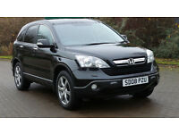 2008 08 HONDA CR-V 2.2 I-CTDI EX 5d 139 BHP *PART EX WELCOME*FINANCE AVAILABLE*WARRANTY*