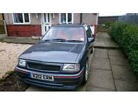 Vauxhall nova gsi rep redtop swopz for zafira gsi or swopz