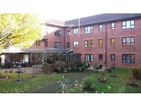 One bed flat to let (for the aged 60 & over) at Moorlands Court, Biddulph