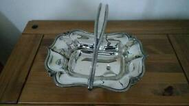 Very nice good quality silver plated dish