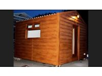 Cabins modern insulated wired