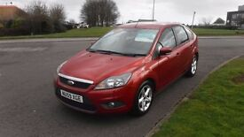 FORD FOCUS 1.6 ZETEC 2009,ALLOYS,AIR CON,HEATED SCREEN,FULL SERVICE HISTORY,VERY CLEAN CONDITION