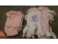 Baby Girl Bundle newborn and 0-3months