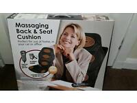 Vibrating car seat massager.