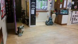 Floor sanding and fitting