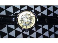 Unisex Skeketon watch