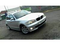 For sale BMW 1 SERIES 120I 55 PLATE AUTOMATIC LOW MILEAGE PX AVAILABLE
