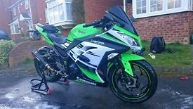 30th Anniversary edition Ninja 300 ABS with add ons