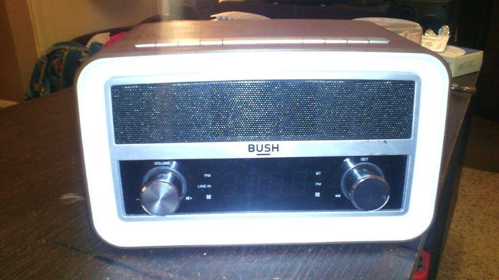 bush vintage looking radio