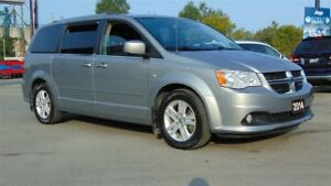 2014 Dodge Grand Caravan CREW- PWR SLIDING DOORS - DVD
