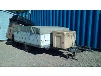 Trailer and car roof rack