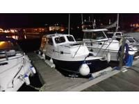 Orkney Orkadian 20 fishing boat for sale.