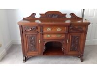 Antique Mahogany Dresser For Sale