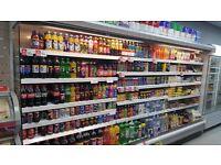 Dairy Fridge/Freezer/Shop Shelves