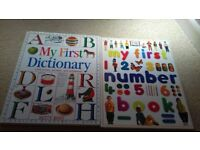 2 X LARGE YOUNG CHILDREN'S MY FIRST LEARNING BOOKS