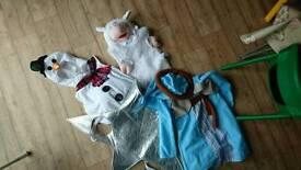 Kids Xmas costumes