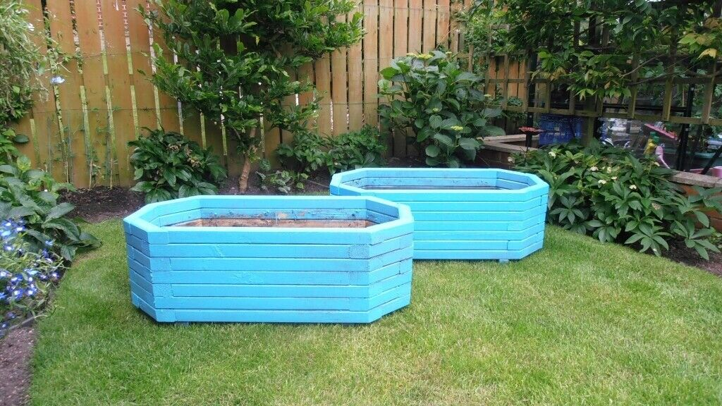 2 Large Wooden Tubs In Whickham Tyne And Wear Gumtree