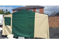 Conway Mirage, great condition, full awning, new wheels. Sadly outgrown.