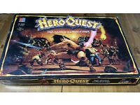 Hero Quest Complete Board Game with some free extras