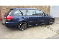 2005 SUBARU LEGACY ESTATE BLUE 4X4 AWD 2.0 i DAMAGED REPAIRABLE SALVAGE