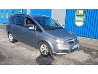 Vauxhall Zafira 7 seater lpg bi fuel